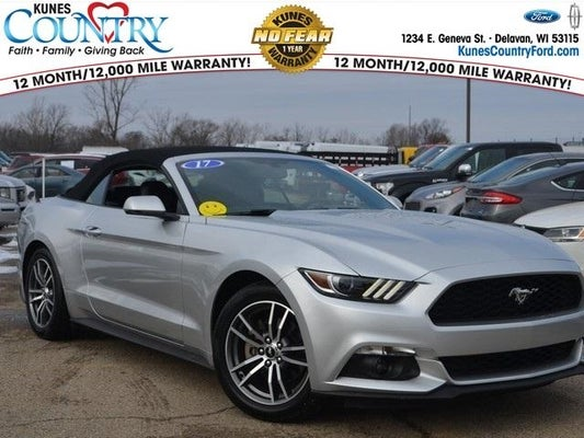 2017 Ford Mustang Ecoboost Premium In Oregon Il Kunes Country Cdjr Of